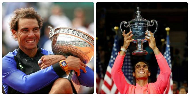 """Tennis 24/7: Nadal lên lịch quyết soán ngôi """"Vua Grand Slam"""" của Federer - 1"""