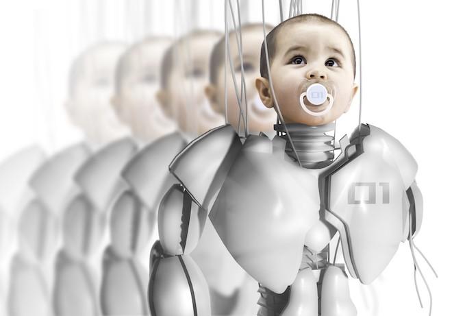 Người và robot sẽ có con chung sau 100 năm nữa?