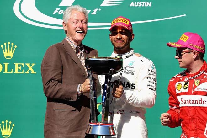 Đua xe F1, 2017 đón toàn VIP: Chân dài, minh tinh Hollywood và Bill Clinton 3