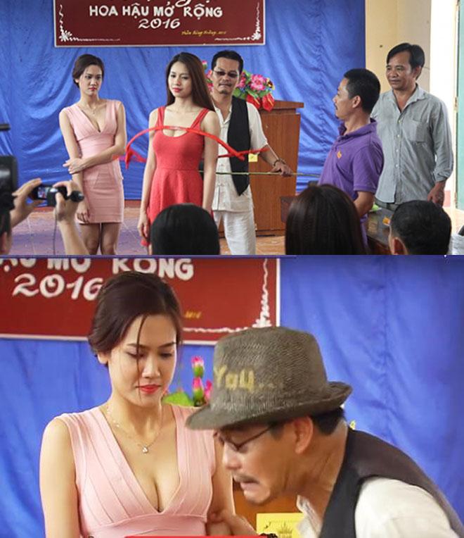 Nhìn lại loạt váy áo gợi cảm của mỹ nhân Việt diễn hài Tết - 9
