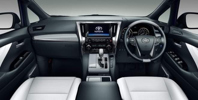 Toyota Alphard 2018 ra mắt, đẹp đẽ hơn - 2