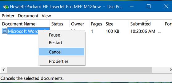 Những lỗi in ấn thường gặp trên Windows - 2