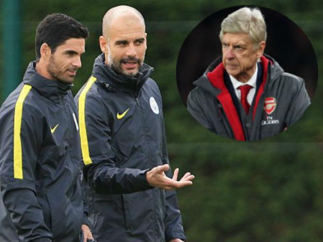 """Man City độc bá: """"Sư phụ"""" De Bruyne sắp cướp ghế Wenger - 1"""