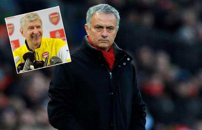 Mourinho than không có tiền mua sắm như Man City: Wenger cười vào mặt 1