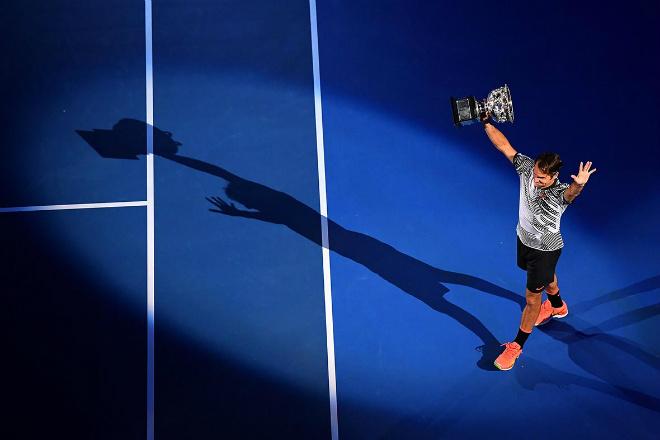 """Những khoảnh khắc thể thao ấn tượng 2017: """"Bọ cạp"""" Giroud đấu huyền thoại Federer 2"""