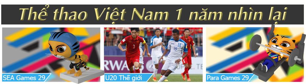 Thể thao Việt Nam 1 năm giông tố: Đỉnh cao cử tạ, bẽ bàng bóng đá