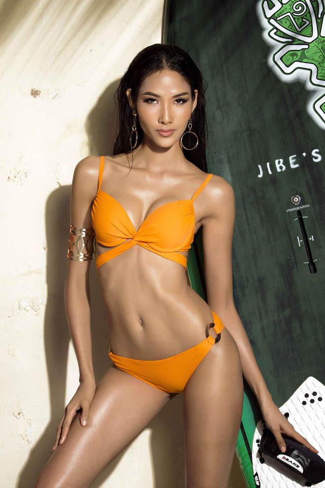 Bật mí cô gái đang được ái mộ nhất ở Hoa hậu Hoàn vũ VN - 1