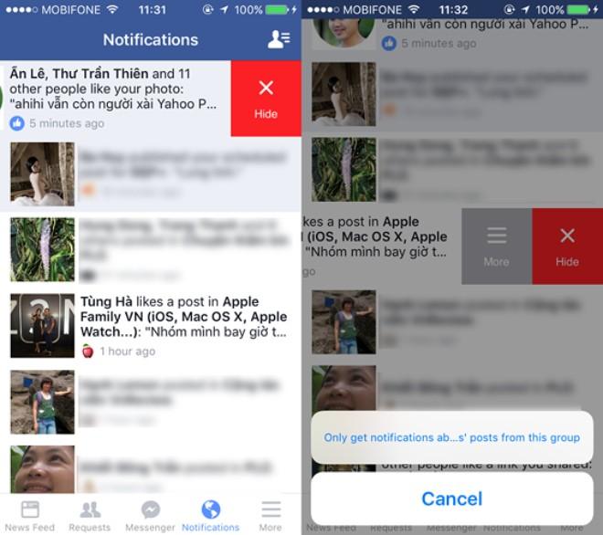 5 mẹo hay khi sử dụng Facebook trên iPhone - 6