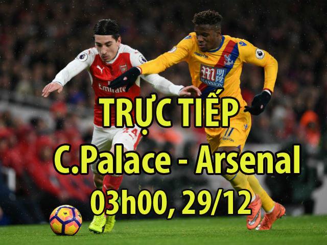 Crystal Palace - Arsenal: Tiệc lớn 5 bàn, rượt đuổi phút bù giờ 4