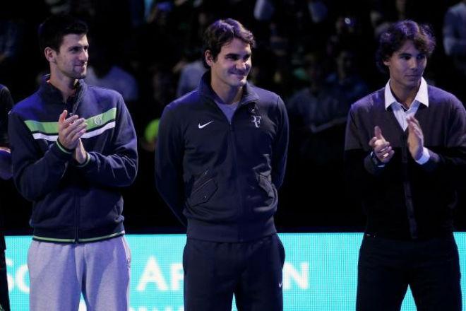 Tin thể thao HOT 28/12: Djokovic đe dọa soán ngôi Federer, Nadal 1
