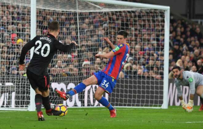 Crystal Palace - Arsenal: Tiệc lớn 5 bàn, rượt đuổi phút bù giờ