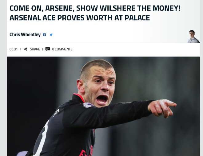 """Arsenal thắng nhọc: Wenger san bằng kỷ lục Sir Alex, Sanchez bị nghi """"mưu phản"""" 2"""
