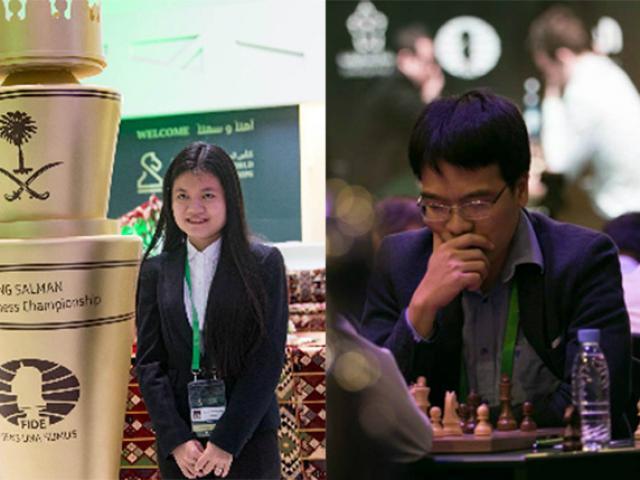 Cờ vua triệu đô: Vỡ òa, Quang Liêm thắng 6 ván hơn Vua cờ 17 bậc 2