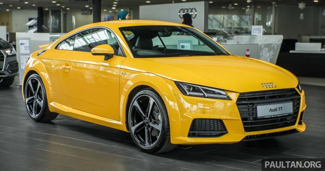 Audi TT 2.0 Black Edition 2018 có giá 1,7 tỷ đồng