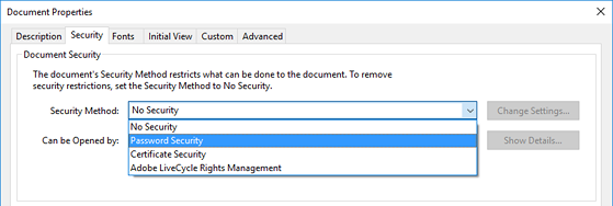 Cách đặt mật khẩu bảo vệ file PDF - 3