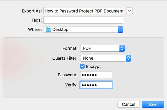 Cách đặt mật khẩu bảo vệ file PDF - 5