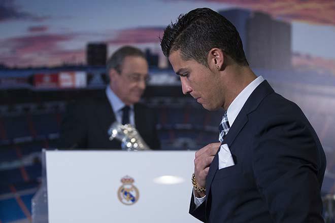 """Real đại loạn: Ronaldo từ mặt Perez, muốn chuộc thân giá """"bèo"""" - 1"""