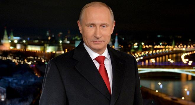 Tổng thống Putin đón Năm mới như thế nào?
