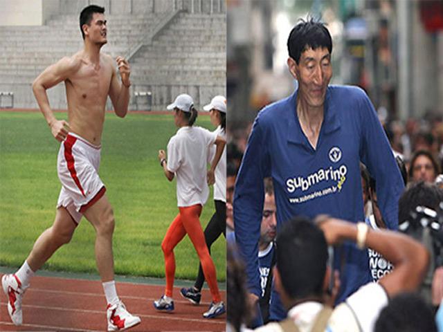 """Cặp đôi """"cộc lệch"""" thể thao: Mỹ nhân cao 2m, lấy chàng """"siêu lùn"""" 4"""