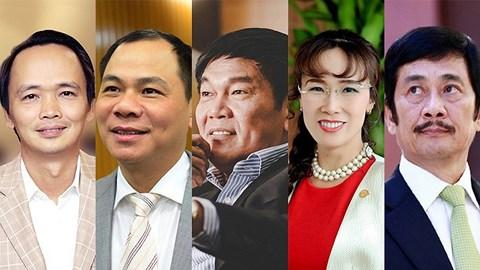 Ông Trịnh Văn Quyết giàu nhất sàn chứng khoán Việt Nam năm 2017