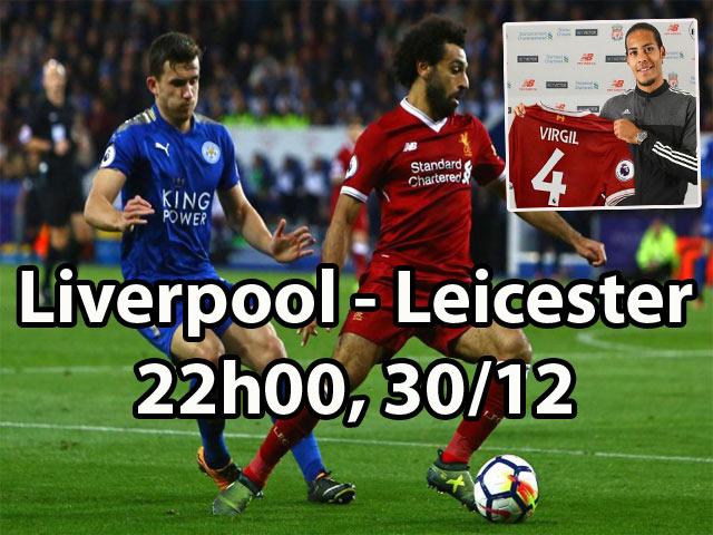 Chi tiết Liverpool - Leicester: Cơn bão màu xanh (KT) 22