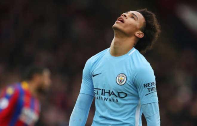 Crystal Palace - Man City: Penalty muộn & 9 phút bù giờ thót tim