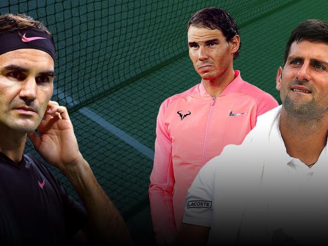 """Bảng xếp hạng tennis 1/1: Sừng sững Nadal, Federer, """"Big Four"""" khó tái lập 2"""