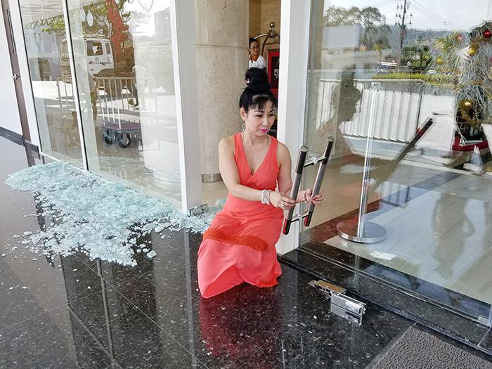Diễn viên Uyên Thảo suýt chết trong vụ nổ ở Phú Quốc