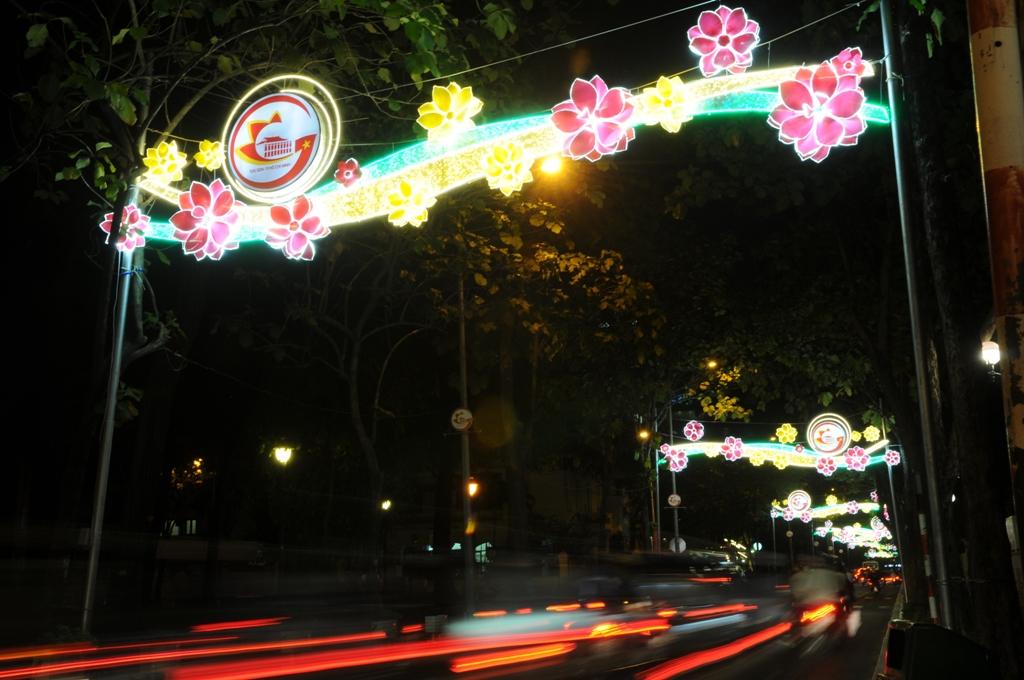 """Trung tâm Sài Gòn """"khoác áo mới"""" trước thời khắc chào đón năm mới 2018 - 8"""