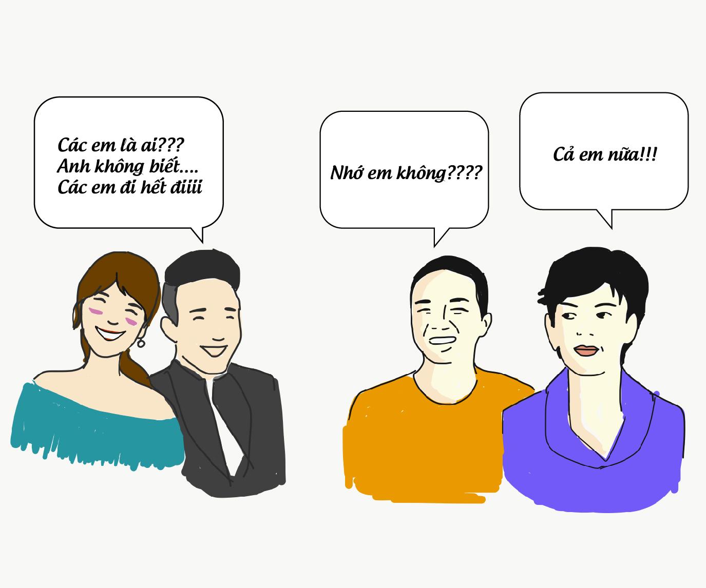 Hí họa: Showbiz Việt 2017