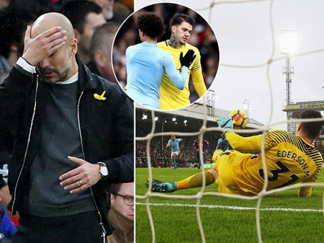 """Man City suýt thua, đứt 2 """"đầu mũi giáo"""": MU, Chelsea đua đến cùng 4"""