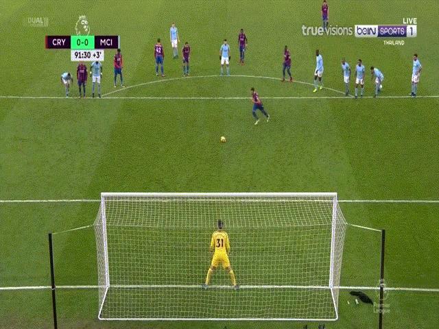 Crystal Palace - Man City: Penalty muộn & 9 phút bù giờ thót tim 5