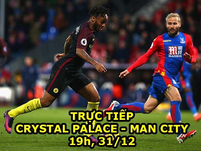 Chi tiết Crystal Palace - Man City: Benteke bỏ lỡ đầy tiếc nuối (KT) 24