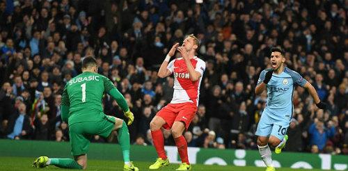 Man City - Monaco: Rượt đuổi nghẹt thở 8 bàn thắng - 1