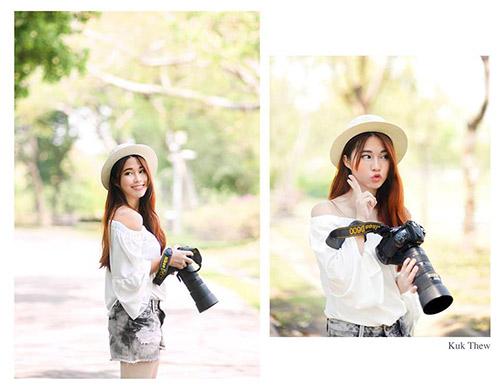 Nữ phóng viên Thái Lan đẹp nóng bỏng như hot girl - ảnh 10