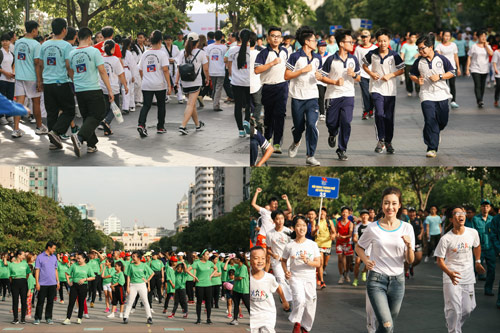 Hoa hậu Đỗ Mỹ Linh và Top 10 Kiều Vỹ rạng rỡ ở phố đi bộ Nguyễn Huệ - 5