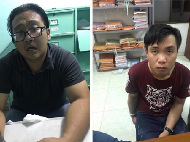 Lộ mặt nhóm dàn cảnh cướp xe, siết cổ nạn nhân ở Sài Gòn