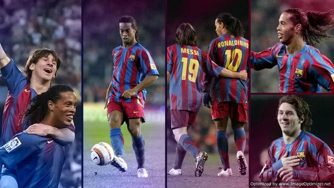 """Ảo thuật gia"" Ronaldinho giải nghệ: Messi mang ơn, fan nuối tiếc - 2"