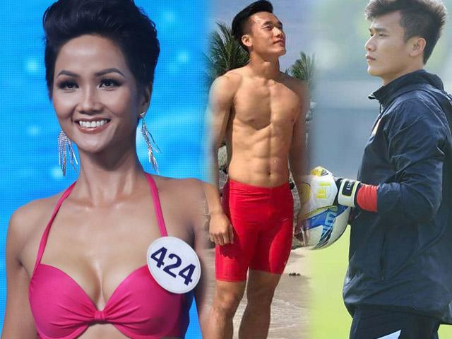 Hoa hậu H'Hen Niê chúc U23 Việt Nam đột phá, giành vinh quang