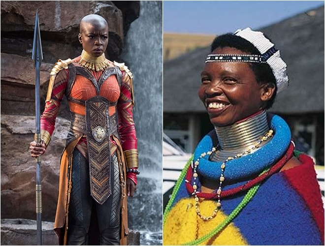 Tập tục làm đẹp khác lạ kích thích người xem trong Black Panther - 7
