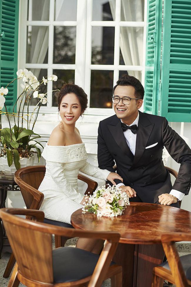 """MC """"Chúng tôi là chiến sĩ"""" tung ảnh cưới với nữ biên tập viên xinh đẹp - 5"""