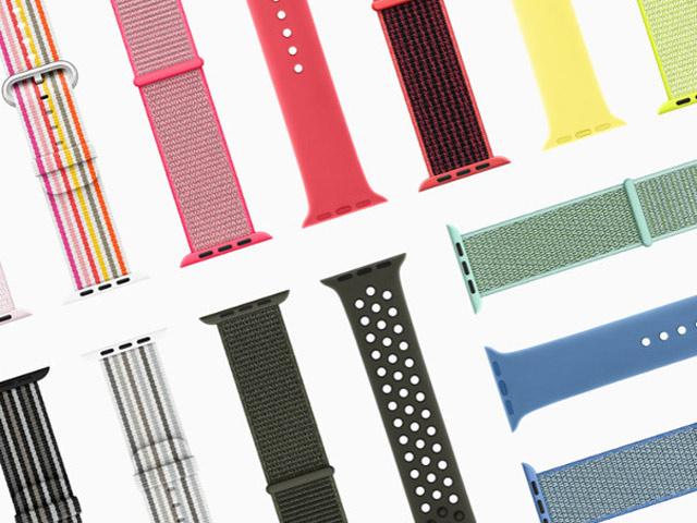 Apple tung bộ sưu tập dây đeo mùa xuân cho Apple Watch