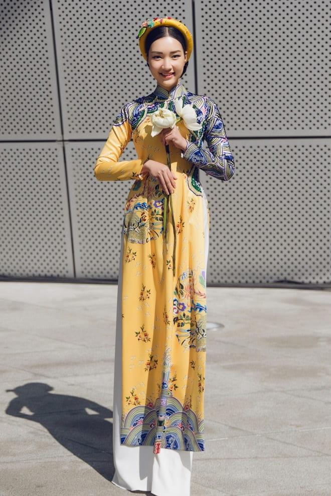 Mỹ nữ Huế mặc áo dài hơn 3 tiếng giữa trời âm độ C - 6