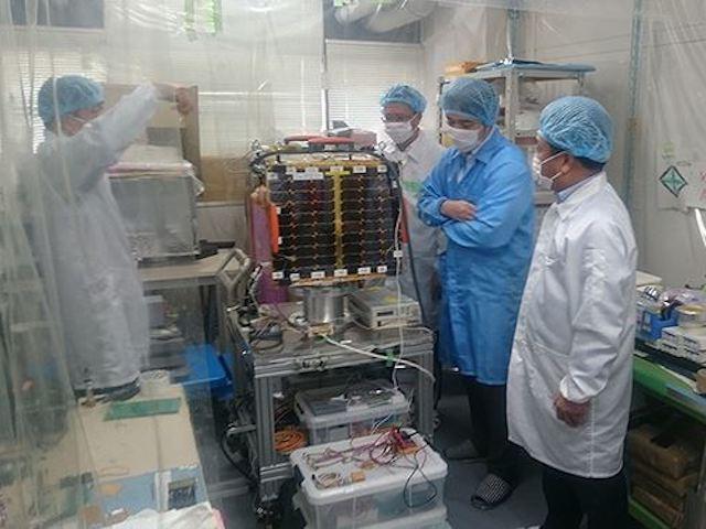 Vệ tinh Micro Dragon phóng lên vũ trụ vào 17/1