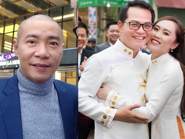 """Công Lý """"đội mưa"""" lên Sơn La dự đám cưới NSND Trung Hiếu với cô dâu kém 19 tuổi"""