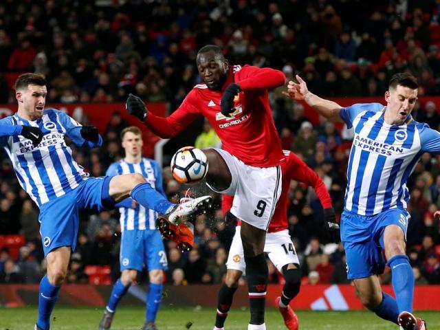 """Trực tiếp bóng đá MU – Brighton: Lukaku tiếp tục sắm vai """"gà son"""""""