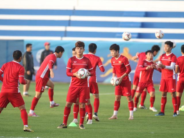 Trực tiếp Việt Nam tập buổi cuối đấu Jordan Asian Cup: Thầy Park rèn tuyệt chiêu