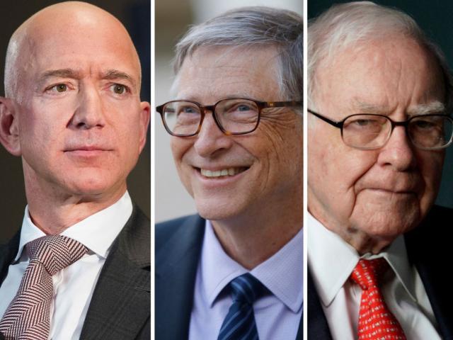 Tài sản 5 tỷ phú giàu nhất Mỹ khủng khiếp cỡ nào?