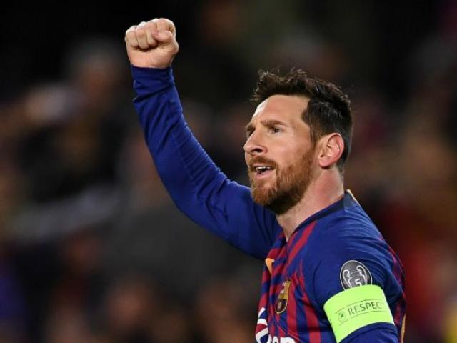 Messi đưa Barcelona vào tứ kết cúp C1: Nói điều bất ngờ về Ronaldo