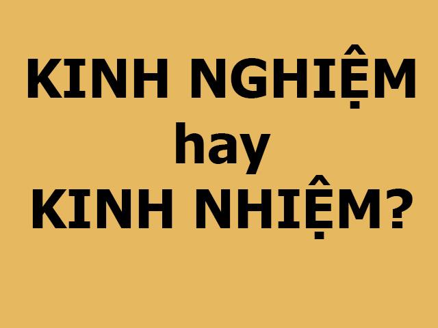 Thử tài tiếng Việt xem bạn viết đúng chính tả bao nhiêu từ